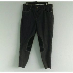 Patch Motor Style Jeans